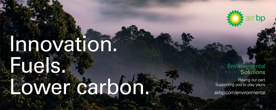 Air BP - Press ad promoting lower carbon
